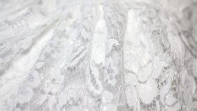 Ślubny biel koronki tło zdjęcia royalty free