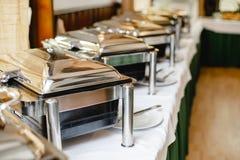 Ślubny bufet dla wydarzeń fotografia royalty free