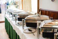 Ślubny bufet dla wydarzeń zdjęcie stock