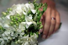 Ślubny bukiet Obrazy Royalty Free