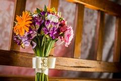 Ślubny bukieta szczegół Fotografia Royalty Free