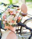Ślubny bukieta zbliżenie fotografia stock