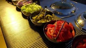 Ślubny catering Talerze z warzywami dla kanapek zbiory