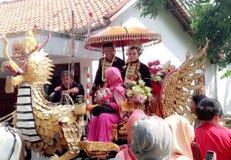 Ślubny ceremoniał Fotografia Royalty Free