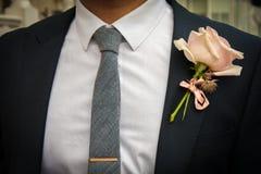 Ślubny kostium zdjęcie royalty free