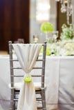 Ślubny krzesło Fotografia Royalty Free