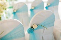 Ślubny krzesło Zdjęcia Royalty Free