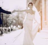 Ślubny letni dzień Zdjęcia Royalty Free