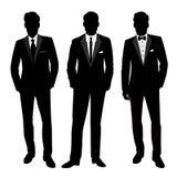 Ślubny mężczyzna ` s kostium i smoking Obrazy Stock