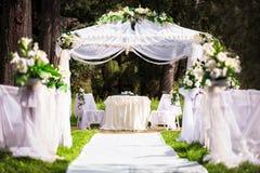 Ślubny miejsce Obraz Royalty Free