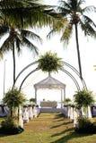 Ślubny miejsce wydarzenia. zdjęcia stock
