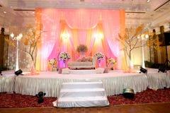 Ślubny ołtarz Zdjęcia Royalty Free