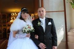 Ślubny para mężczyzna, kobieta i Fotografia Royalty Free