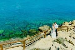 Ślubny sesja zdjęciowa. Zdjęcia Royalty Free