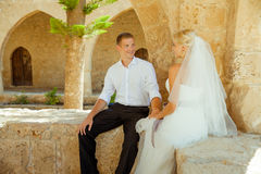 Ślubny sesja zdjęciowa. Obraz Stock