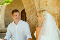 Ślubny sesja zdjęciowa. Zdjęcia Stock