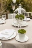 Ślubny stołowy położenie 8 Zdjęcia Royalty Free