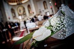 Ślubny szczegół Zdjęcia Royalty Free