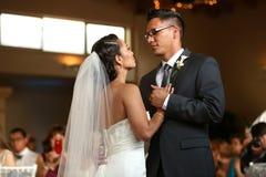 Ślubny taniec Fotografia Royalty Free