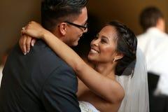 Ślubny taniec obraz royalty free