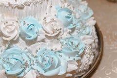 Ślubny tort, tort dla ślubu Obraz Royalty Free