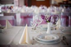 Ślubny wnętrze Zdjęcia Stock