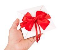 Ślubny zaproszenie lub prezenta świadectwo obrazy stock