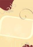 Ślubny zaproszenie szablon Zdjęcia Royalty Free