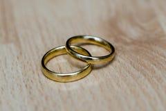 Ślubny zespół lub obrączka ślubna obrazy stock