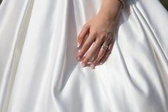 Ślubny zespół na damie obrazy royalty free