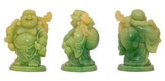 Śmiać się Budda statuę Fotografia Royalty Free