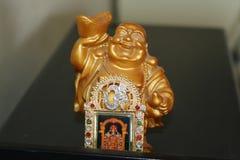 Śmiać się Buddha z Venkatesha fotografią fotografia stock