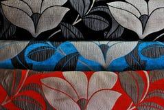 Śmiało coloured tkanina Fotografia Royalty Free