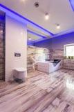 Śmiały łazienka projekt obrazy royalty free