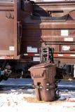 Śmieci Ciężarówka Obrazy Stock