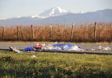 Śmieci i góra piekarz Obraz Royalty Free
