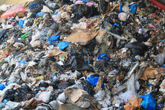 Śmieci, Liban Obrazy Stock
