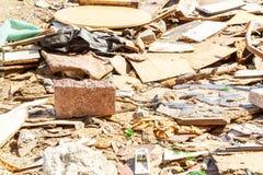 Śmieci na ulicach metropolia Istanbuł fotografia stock