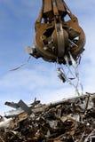śmieciarski chciwa ładowania metal Obrazy Stock