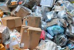 Śmieciarski usyp zdjęcia royalty free