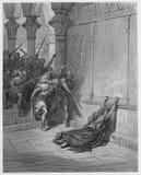Śmierć Athaliah royalty ilustracja