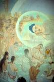 Śmierć Buddha fotografia stock