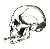 śmierć dym Zdjęcia Stock