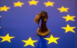Śmierć Europejski zjednoczenie obrazy stock