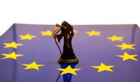 Śmierć Europejski zjednoczenie obrazy royalty free