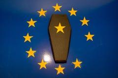 Śmierć Europejski zjednoczenie fotografia royalty free