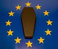 Śmierć Europejski zjednoczenie zdjęcie royalty free