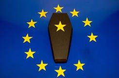 Śmierć Europejski zjednoczenie zdjęcia royalty free