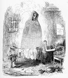 Śmierć jest biednego człowieka ` s przyjacielem royalty ilustracja
