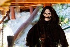 Śmierć - kościec fotografia stock